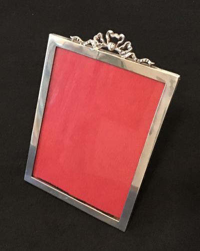 Edwardian Silver Easel Photo Frame (1 of 6)