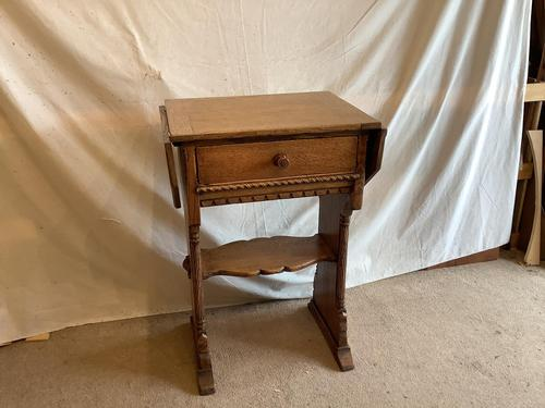 Norfolk Oak Occasional Table (1 of 3)