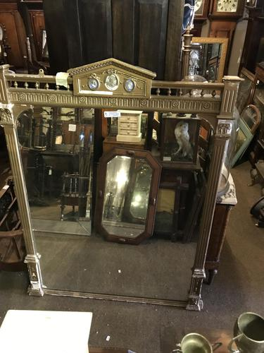 Large Quality Gilt Mirror (1 of 11)