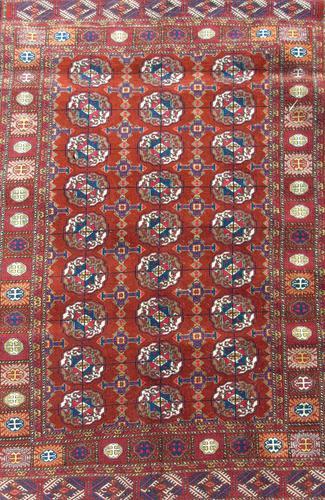 Good Tekke Turkman Carpet c.1930 (1 of 8)
