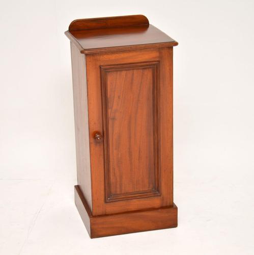 Antique Victorian  Mahogany Bedside Cabinet (1 of 7)