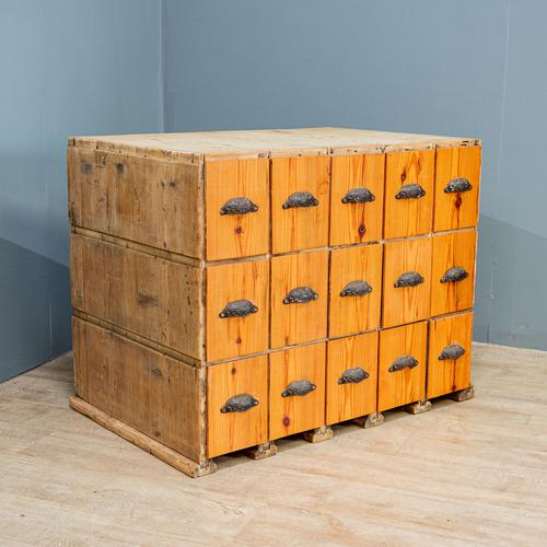 20th Century Organisation Drawers (1 of 7)