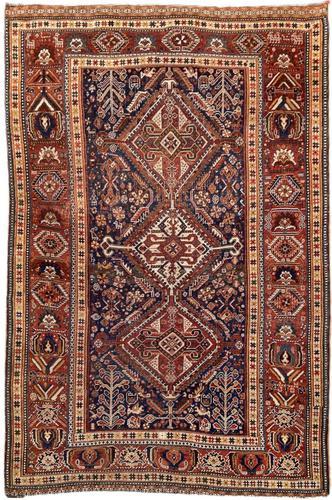Antique Qashqai Rug (1 of 16)