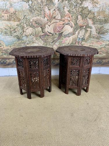 Pair of Anglo Indian Occasional Tables (1 of 6)