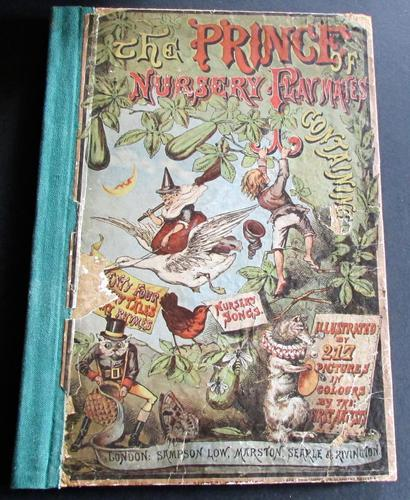 1880 The Prince of Nursery Playmates 1st Edition (1 of 8)