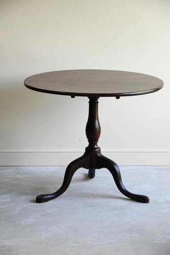 Antique Georgian Mahogany Tilt Top Table (1 of 12)