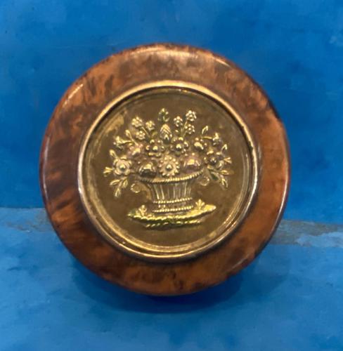 19th Century French Thuya Burl Burr Snuff Box (1 of 12)
