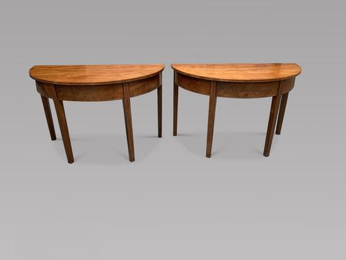 Pair of Console Tables c.1850 (1 of 5)