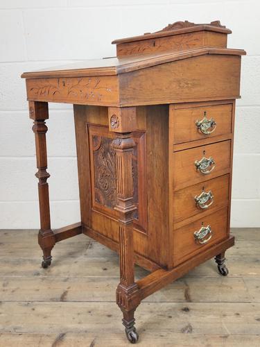 Antique Edwardian Davenport Desk (1 of 15)