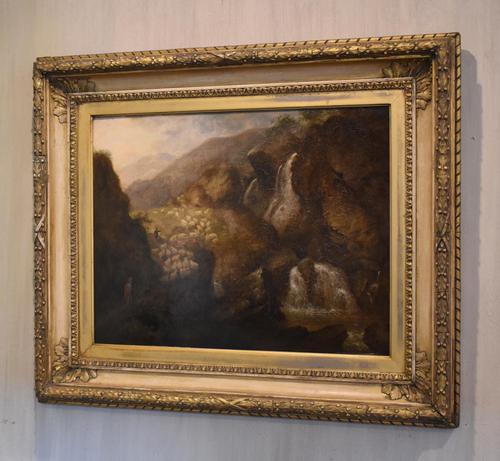 Scottish Landscape Oil Painting by William Smeall (1 of 7)