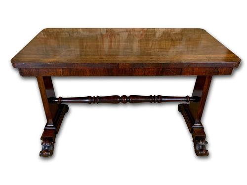 19th Century Rosewood Library Table (1 of 5)
