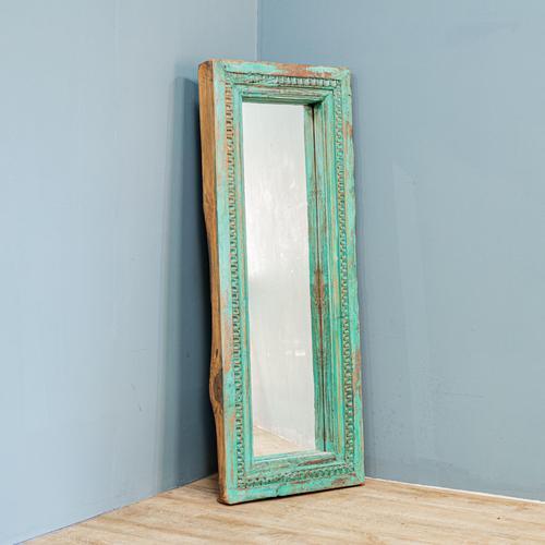 Painted Teak Mirror (1 of 6)