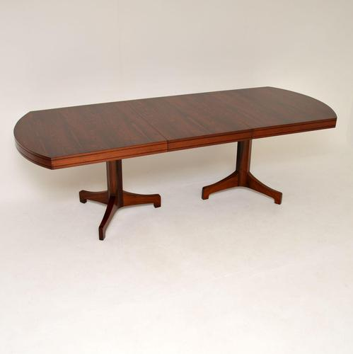 Rosewood Extending Dining Table by Robert Heritage 1960s (1 of 13)