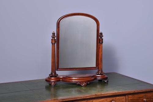 Victorian Mahogany Toilet Mirror (1 of 6)
