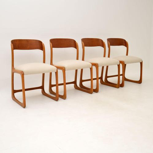 Set of 4 Danish Teak Vintage Dining Chairs 1960's (1 of 12)