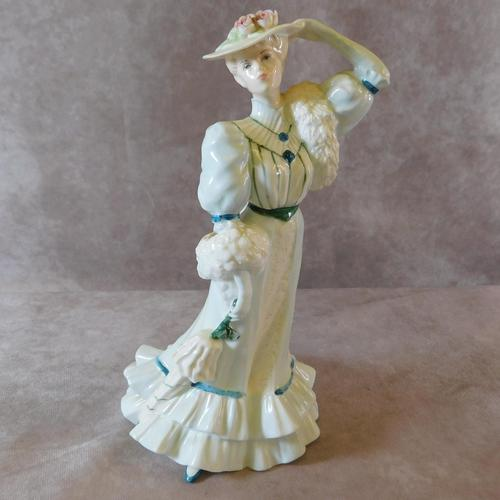 "Coalport ""Beatrice at the Garden Party"" Limited Edition  Figurine (1 of 9)"