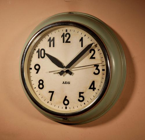 AEG / Peter Behrens Industrial Wall Clock (1 of 7)