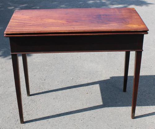 1850's Victorian Mahogany Side Table (1 of 4)