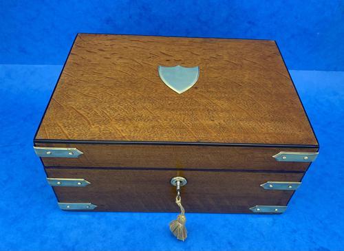 Victorian Oak Gentleman's Box (1 of 15)