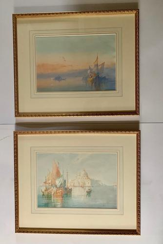 William Knox - Pair of Watercolours of Venice (2) (1 of 5)