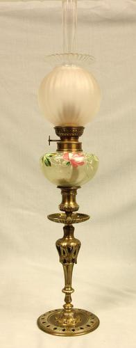 Antique Oil Peg Lamp (1 of 8)