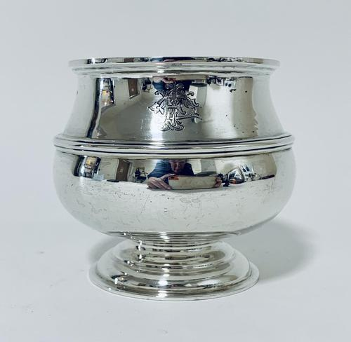 Antique Solid Sterling Silver Sugar Bowl by Walker & Hall (1 of 12)