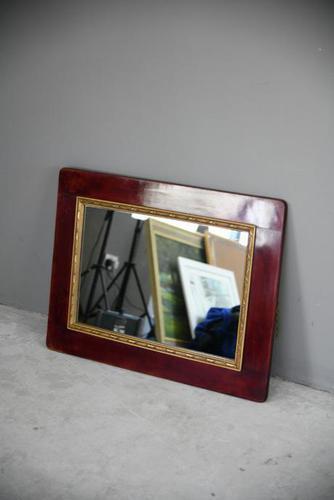 Mahogany Wall Mirror (1 of 5)