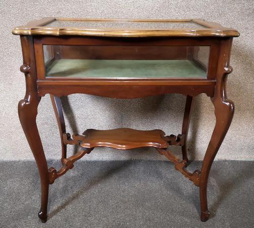 Edwardian Mahogany Bijouterie Table / Display Table (1 of 10)