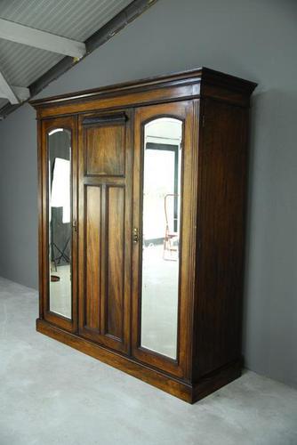 Victorian Walnut Wardrobe (1 of 12)