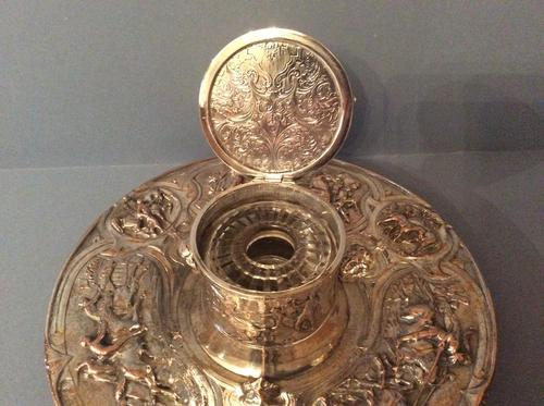 Magnificent Victorian Inkwell (1 of 8)
