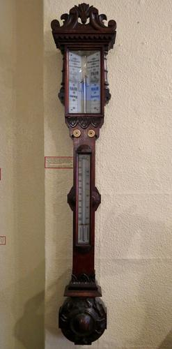 Victorian Stick Barometer (1 of 4)