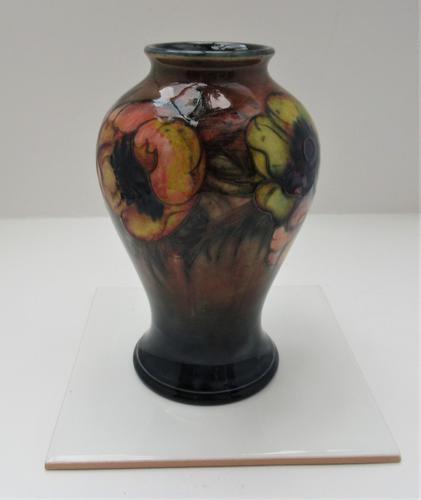 William Moorcroft, Anemone Vase Flambe, C1930 (1 of 9)