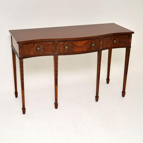 Antique Sheraton Style Mahogany Server / Side Table (1 of 12)