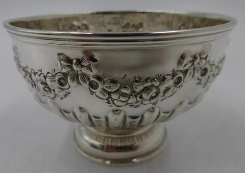 Antique Victorian Silver Bowl - London 1899 (1 of 6)