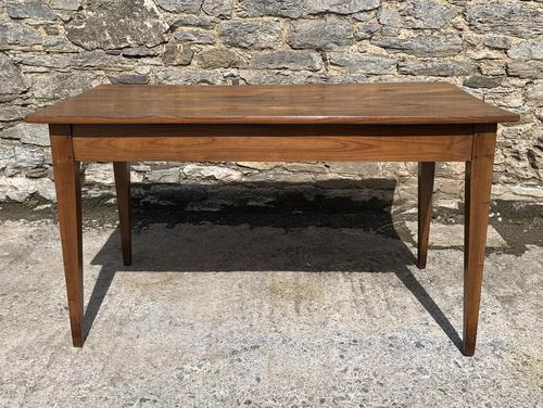 Small Antique French Elm Farmhouse Table (1 of 22)