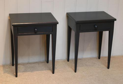 Pair of Painted Tables (1 of 10)