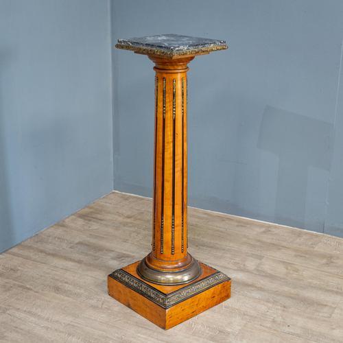 Satinwood Pedestal (1 of 10)