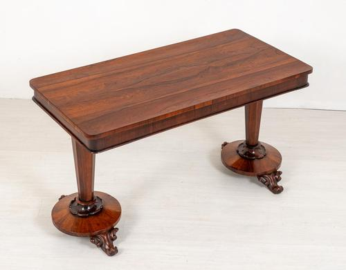 William IV Rosewood Stretcher Table (1 of 7)