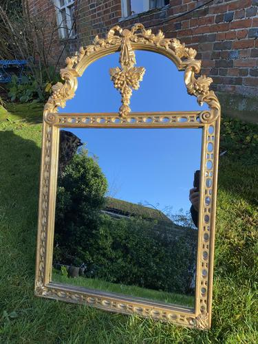 Carved Giltwood Mirror (1 of 4)