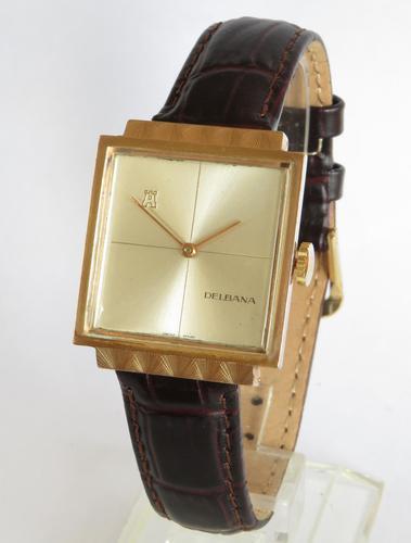 Gents 1950s Delbana Wrist Watch (1 of 5)