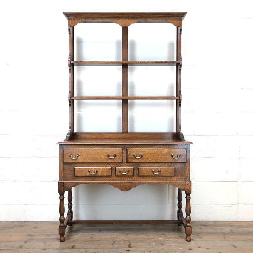 Early 20th Century Antique Oak Dresser (1 of 12)