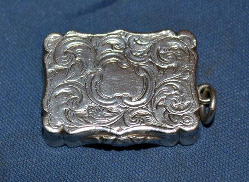 Victorian Silver Vinaigrette (1 of 6)