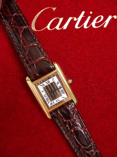 Cartier Ladies Tricolour Watch (1 of 4)
