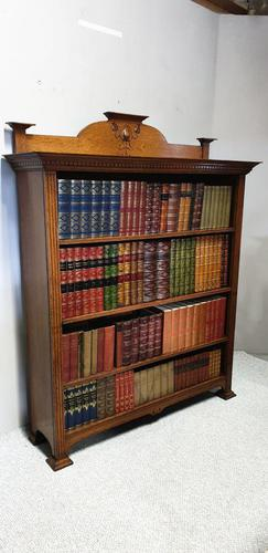 Art Noveau Open Library Bookcase (1 of 6)