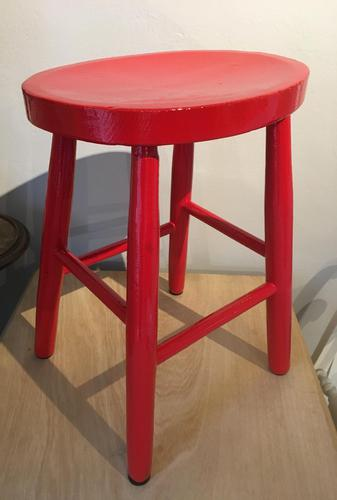 Painted Stool (1 of 3)