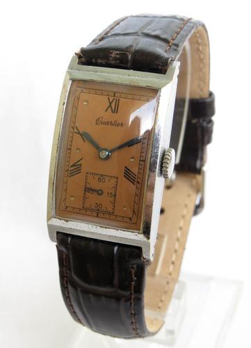 1940s Art Deco Quartier Wrist Watch (1 of 5)