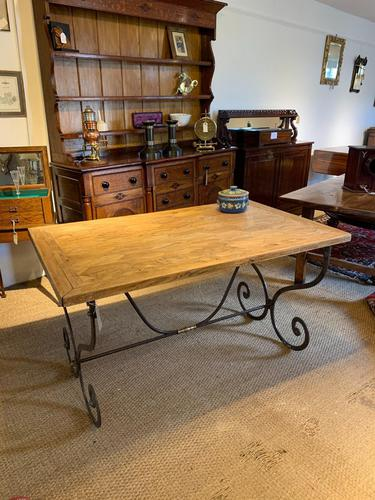 Spanish Wrought Iron Based Table (1 of 6)