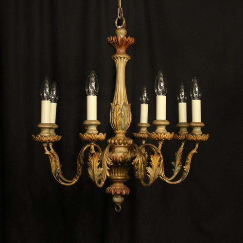 Florentine Decorative 8 Light Polychrome Chandelier (1 of 10)