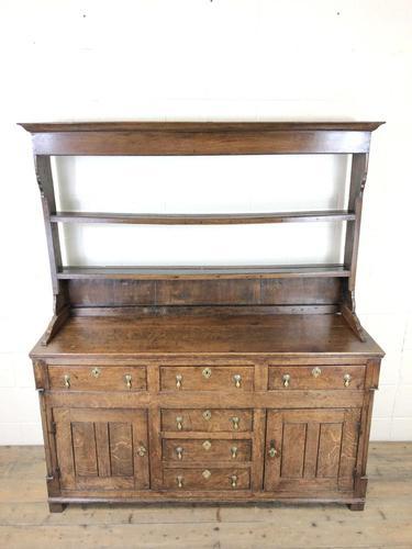 Antique North Wales Oak Dresser (1 of 10)