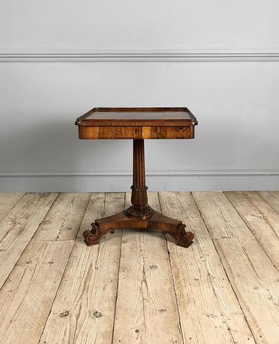 William IV Rosewood Occasional Table (1 of 7)